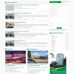 M31 – Mẫu website bất động sản đẹp