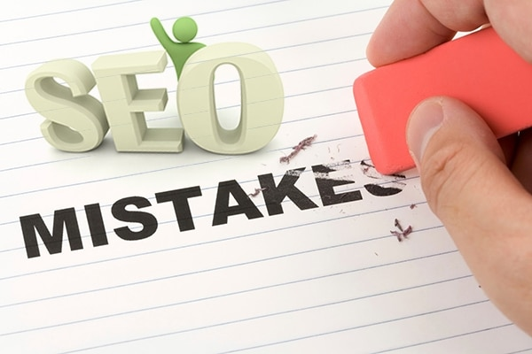 5 sai lầm thường gặp khi làm seo website