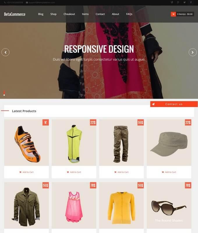 BetaCommerce Blogger Template