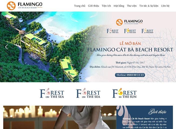 thiết kế website nhà đất M53 - Hàm rồng media