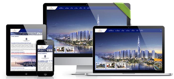 Chuyên thiết kế website bất động sản tại tphcm