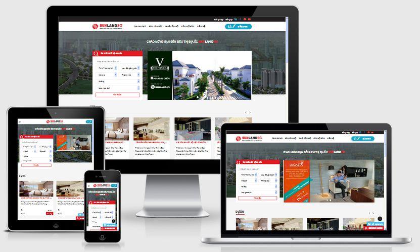 Thiết kế website giá rẻ tại Vĩnh Phúc