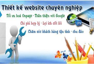 Thiết kế website tại Cà Mau chuyên nghiệp