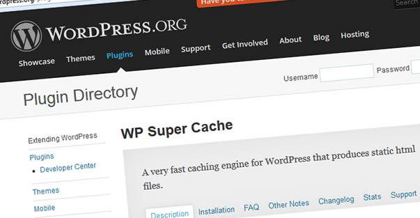 Kết quả hình ảnh cho WP Super Cache